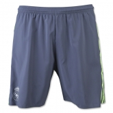 15-16 Real Madrid Away Gray Soccer Jersey Short