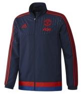 15-16 mancehster united navy training jacket