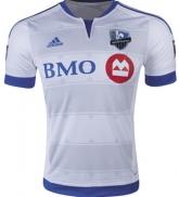 15-16 Montreal Impact Away White Soccer Jersey Shirt