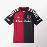 15-16 Newell's Old Boys Home Soccer Jersey Shirt