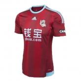 15-16 Real Sociedad Away Red Soccer Jersey Shirt