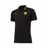 15-16 Borussia Dortmund Black Training Polo Shirt