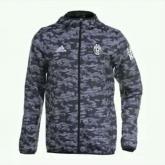 15-16 Juventus Grey Windbreaker Jacket