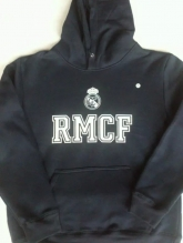 15-16 Real Madrid Navy Hoody Sweater