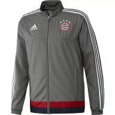 15-16 Bayern Munich Gray Training Presentation Jacket