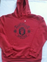 15-16 Manchester United Red Hoody Sweater