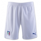 2016 Italy Home White Soccer Jersey Short