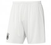 2016 Germany Away White Soccer Jersey Short