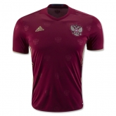 2016 Russia Home Red Soccer Jersey Shirt