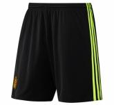 2016 Belgium Home Black Jersey Short