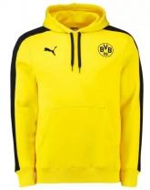 15-16 Borussia Dortmund Yellow Hoody Sweater