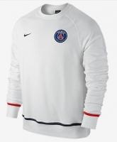 15-16 PSG White Sweat Top Shirt