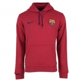 15-16 Barcelona Red Hoody Sweater