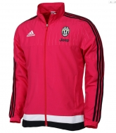15-16 Juventus Red Training Presentation Jacket