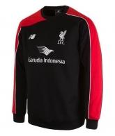 15-16 Liverpool Black Sweat Top Shirt