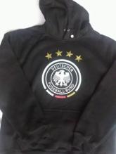 15-16 Germany Black Hoody Sweater