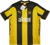 2015 Club Atlético Peñarol Home Yellow&Black Jersey Shirt