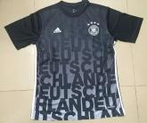 2016 Germany Black Training Jersey Shirt