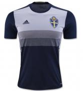 2016 Sweden Away Navy Soccer Jersey Shirt