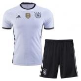 2016 Germany Home White Jersey Kit(Shirt+Short)