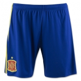 2016 Spain Home Soccer Jersey Short