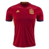 2016 Spain Home Soccer Jersey Shirt