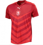 2016 Czech Republic Home Red Soccer Jersey Shirt
