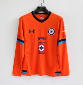 15-16 CDSC Cruz Azul Away Orange Long Sleeve Jersey Shirt