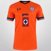 15-16 CDSC Cruz Azul Away Orange Jersey Shirt