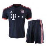 15-16 Bayern Munich Away Navy Jersey Shirt