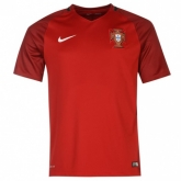 2016 Portugal Home Red Jersey Shirt