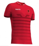2016 Albania Home Red Soccer Jersey Shirt