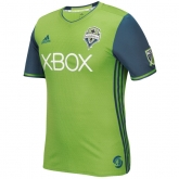 16-17 Seattle Sounders Home Green Soccer Jersey Shirt