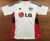 15-16 Bayer 04 Leverkusen Away White Jersey Shirt