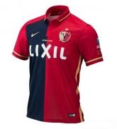 16-17 Kashima Antlers Home Red Jersey Shirt