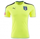 2016 Italy Goalkeeper Green Jersey Shirt