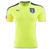 2016 Italy Goalkeeper Green Jersey Shirt