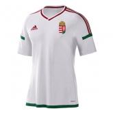 2016 Hungary Away White Soccer Jersey Shirt