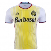 16-17 Columbus Crew SC Away White&Yellow Jersey Shirt