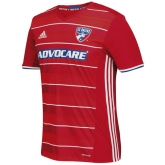 16-17 FC Dallas Home Red Soccer Jersey Shirt