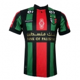 16-17 CD Palestino Away Black Soccer Jersey Shirt