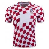 2016 Croatia Home Red Jersey Shirt