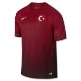 2016 Turkey Home Red Soccer Jersey Shirt