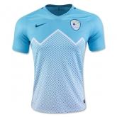 2016 Slovenia Home Blue Soccer Jersey Shirt