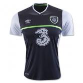 2016 Ireland Away Grey Soccer Jersey Shirt