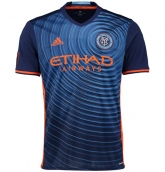 16-17 New York City Away Navy Soccer Jersey Shirt