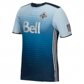 16-17 Vancouver Whitecaps Away Blue Soccer Jersey Shirt
