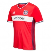 16-17 Chicago Fire Home Red Soccer Jersey Shirt