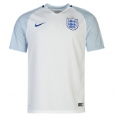 2016 England Home White Jersey Shirt