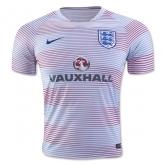 2016 England White&Red Training Shirt